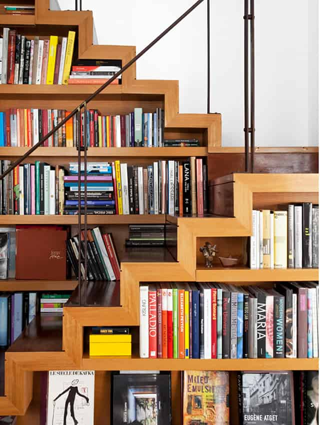 Zig Zag Book Staircase