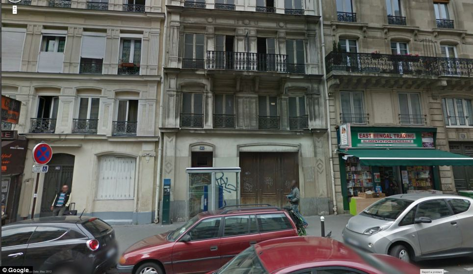 In ParisL: At 145 rue la Fayette in the 10th arrondissement, lies another facade concealing nothing much at all