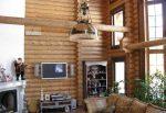 Интерьер деревянного дома из бруса внутри фото – Ой!