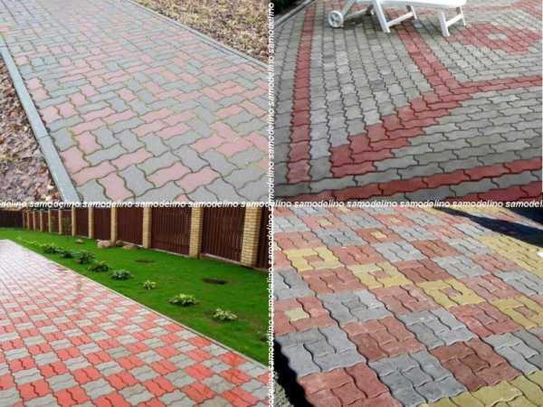Схемы укладки тротуарных плиток   Удобный Сад   450x600